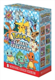 Pokemon Classic Collection (8 Book Boxed Set)   Paperback Book