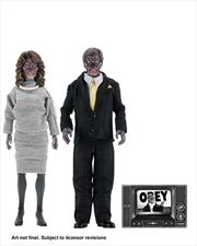 "They Live - 8"" Clothed Action Figure 2-pack"