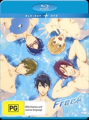 Free! Iwatobi Swim Club - Season 1 | Blu-ray + DVD | Blu-ray/DVD