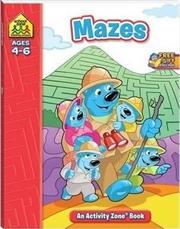 School Zone Mazes Activity Zone Book | Paperback Book