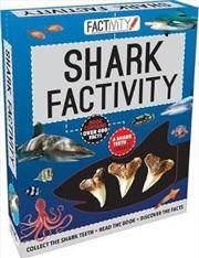 Factivity Shark Factivity | Paperback Book