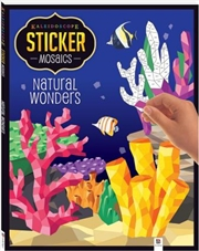 Sticker Mosaic: Natural Wonders | Paperback Book