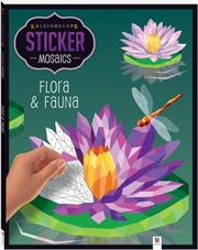 Sticker Mosaic: Flora And Fauna | Paperback Book