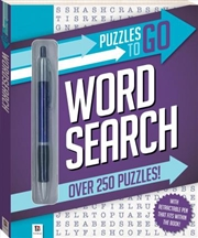Puzzles to Go Series 1: Word Search | Paperback Book