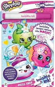 Inkredibles Invisible Ink Shopkins | Paperback Book