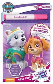 Inkredibles Invisible Ink Paw Patrol Pink | Paperback Book