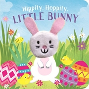 Hippity Hoppity, Little Bunny Finger Puppet Book
