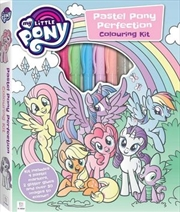 My Little Pony Pastel Colouring Kit | Hardback Book