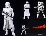 STAR WARS THE FORCE AWAKENS First Order Snowtrooper & Flametrooper ArtFX+ Statue | Merchandise