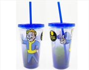 JUST FUNKY Fallout - Carnival Cup with Molded Ice Cube