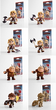 "THE LOYAL SUBJECT - How To Train Your Dragon - Humans/Heroes 3"" Action Vinyls- W2 (Random Select)"