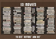 101 Movies To See Before You Die - Scratch Poster