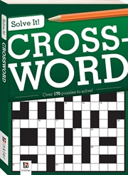 Solve It: S1: Crossword | Paperback Book