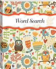 Perfect Puzzles Flexibound Word Search Owls | Hardback Book