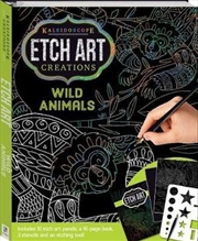 Kaleidoscope Etch Art Creations - Wild Animals and More