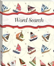Perfect Puzzles Wordsearch Sailboats | Hardback Book