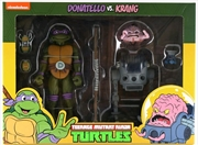 Teenage Mutant Ninja Turtles - Donatello vs Krang Action Figure 2-pack | Merchandise