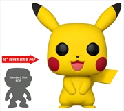 "Pokemon - Pikachu 10"" Pop! RS"