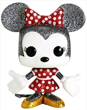 Mickey Mouse - Minnie Mouse Diamond Glitter US Exclusive Pop! Vinyl [RS]