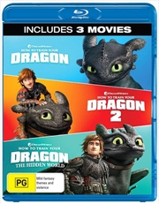 How To Train Your Dragon / How To Train Your Dragon 2 / How To Train Your Dragon - The Hidden World | Blu-ray