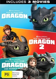 How To Train Your Dragon / How To Train Your Dragon 2 / How To Train Your Dragon - The Hidden World | DVD