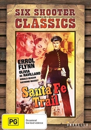 Santa Fe Trail Six Shooter Classics | DVD
