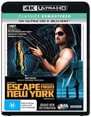 Escape From New York | Blu-ray + UHD