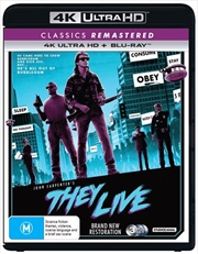 They Live | Blu-ray + UHD
