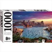Mindbogglers 1000 Piece Jigsaw: Sydney Harbour Sunset  Australia | Merchandise