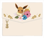 Pokemon - Eevee Family and flowers Wallet
