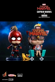 Captain Marvel - Captain Marvel &Movbi Cosbaby Set | Merchandise