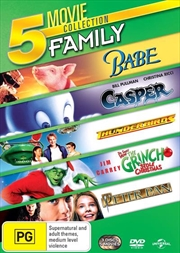 Babe/Casper/Thunderbirds/How The Grinch Stole Christmas/Peter Pan | DVD