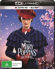 Mary Poppins Returns | Blu-ray + UHD (BONUS TOTE BAG)