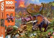 100-Piece Children's Scaly Jigsaw: Dinosaur Island | Merchandise