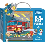 Junior Jigsaw: Fire Station (small) | Merchandise