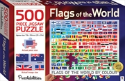 Flags of the World by Colour 500 Piece Jigsaw Puzzle
