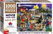 Puntastic Puzzles: Movies 1000-piece Puzzle | Merchandise