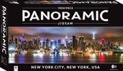 1000 Piece Panoramic Jigsaw Puzzle New York City, New York, USA