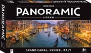 Grand Canal, Venice, Italy 1000 Piece Panoramic Jigsaw Puzzle | Merchandise