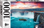 Godafoss Waterfall, Iceland 1000 Piece Puzzle | Merchandise