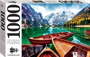 Braies Lake, Italy 1000 Piece Jigsaw | Merchandise