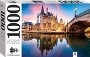 Gent, Belgium 1000 Piece Jigsaw | Merchandise