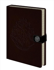 Harry Potter - Hogwarts Crests Premium Notebook
