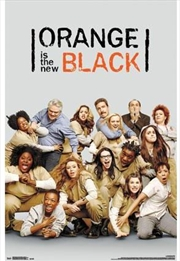 Orange Black - Group Poster