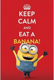 Minions Keep Calm Poster | Merchandise
