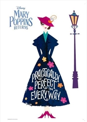 Mary Poppins Returns - Practically Perfect Poster