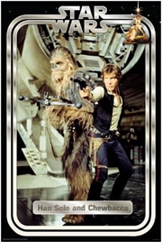 Star Wars Classic - Han And Chewie Poster