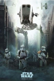 Star Wars Rogue One - Stormtrooper Patrol Poster