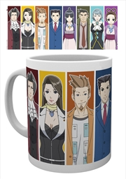 Ace Attorney - Characters Mug | Merchandise