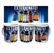 Daleks Exterminate Mug   Merchandise